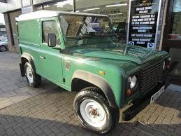 land rover green land rover defender 90 2 5 td5 hard top 3dr green 2006 in st