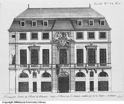 Architectural Building Plans 30 Best Houses French Hotel Images On Pinterest Building Plans
