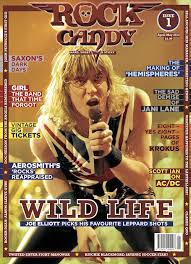 Rock Candy Adult - rock candy mag make their debut with def leppard s joe elliott on