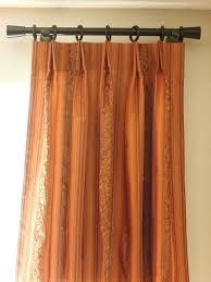 Rust Color Curtains Rust Orange Curtains Bedroom Orange Striped Bedroom Drapes Rust