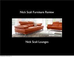 Nick Scali Sofa Bed Nickscali Furniture Reviews Sales Records
