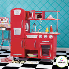 kidkraft vintage wooden play kitchen red walmart com arafen