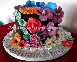 flowergarden cake amazing cakes and desserts