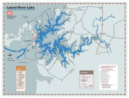 Ohio Rivers Map by Nashville District U003e Locations U003e Lakes U003e Laurel River Lake U003e Maps