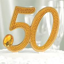 50th cake topper 50th anniversary rhinestone cake topper wedding cake toppers