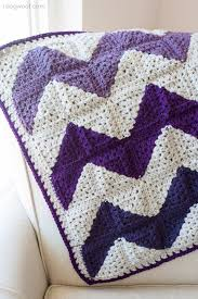 10 free ripple crochet afghan patterns