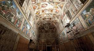 relighting the sistine chapel architectural lighting magazine