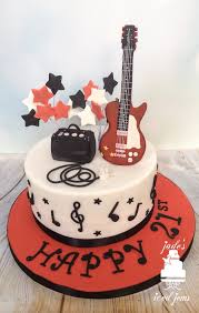 guitar birthday cake on cake central guitar cake pinterest