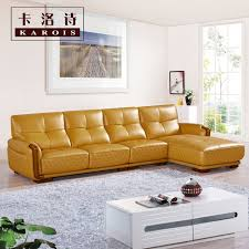 Leather Sofa Prices Shop Furniture Living Room Luxury Antique L Shaped Sofa