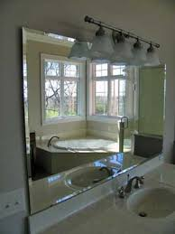Beveled Bathroom Mirrors Beveled Bathroom Mirror Stylish Mirrors Westport Glass Products