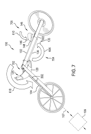 patent us20140077474 folding bicycle and method of use google