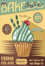 bake sale u2013 flyer psd template facebook cover u2013 by elegantflyer