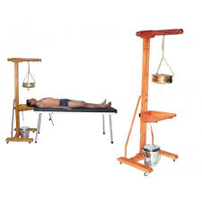 ayurvedic massage table for sale best wooden shirodhara stand with head support medicalbazzar com