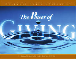 columbus state university annual report of private giving 2005