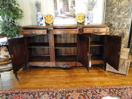 French Country Buffet And Hutch by Antique French Country Buffet Sideboard Server Provence Carved