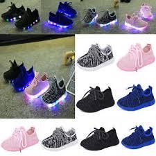 Kids Light Up Shoes New Children Kids Boys Girls Luminous Sneakers Running Shoes Led