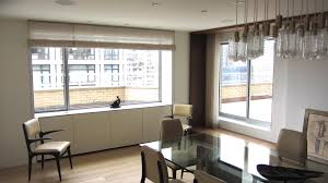 simple modern window treatments for large windows living room how