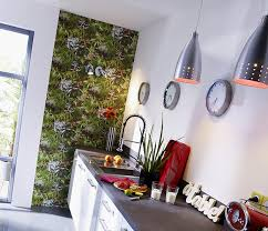 papier peint lutece cuisine papier peint lutece mur végétal vert peindre mur mur vegetal et