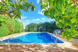 how to create a private oasis around your backyard swimming pool