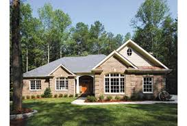 brick colonial house plans eplans colonial house plan classic ranch with up to date floor