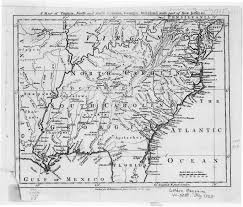 Virginia Map With Cities Digital History