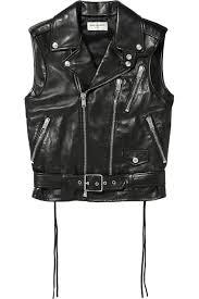 leather vest leather vest saint laurent us the outnet