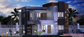 Modern Elevation by May 2017 Kerala Home Design And Floor Plans