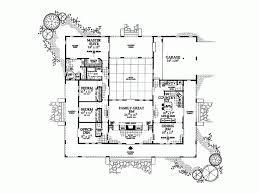 Spanish Style Floor Plans by 15 Plan 16813wg Center Courtyard Beauty Spanish House Plans With