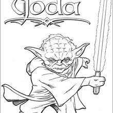 color pages star wars jedi knights and yoda coloring pages hellokids com