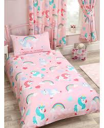 Junior Cot Bed Duvet Set I Believe In Unicorns 4 In 1 Junior Bedding Bundle Set Duvet
