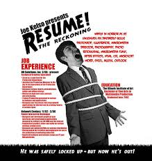 Funny Email Addresses On Resumes 15 Cool And Creative Resumes Bored Panda