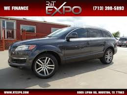 audi suv houston 2007 audi q7 premium suv in houston tx wa1by74l87d090624