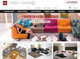 site canapé création de de vente de meubles webazimut