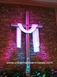 church crosses large wall crosses built for christian church sanctuaries view