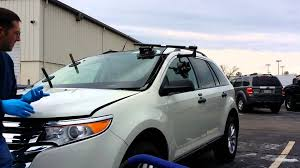 lexus gx470 windshield replacement 2013 ford edge windshield set with lil buddy youtube