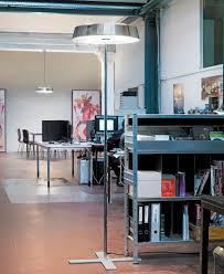 floor standing lamp contemporary aluminum steel koi