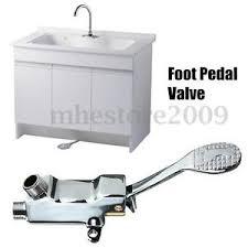 kitchen faucet pedal floor pedal switch valve faucet copper basin single