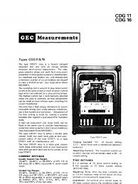 cdg 11 31 relay alternating current