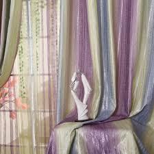 Multi Color Curtains Multi Color Like Rainbow Jacquard Blackout Luxury Curtains