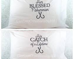 his and hers pillow cases his and hers pillowcases etsy