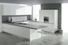 plan de travail cuisine gris cuisine grise et blanche bilalbudhani me plan de travail blanc