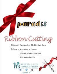 grand opening ribbon grand opening hbccvb ribbon cutting paradis truly