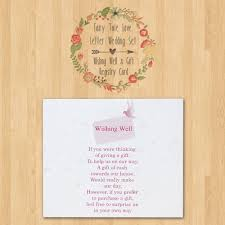 wedding gift letter fairy tale letter personalized wedding wishing well gift