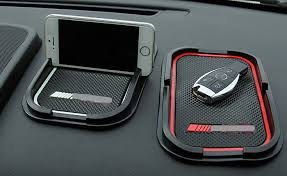 mercedes 250 accessories car non slip mat cell phone styling amg logo for mercedes