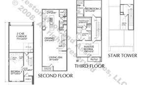 23 delightful townhouse floor plans designs architecture plans