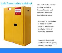 flammable gas storage cabinets factory sale fireproof flammable liquid safety storage cabinet for