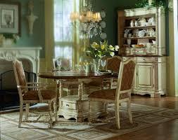 pulaski casa cristina la cienega round dining collection pf