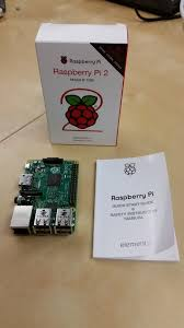 unboxing the raspberry pi 2 model b