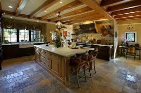 reclaimed biblical flooring mediterranean kitchen orange