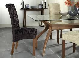 Aubergine Dining Chairs Dining Chairs Walnut Legs Buy Serene Aubergine Floral Fabric